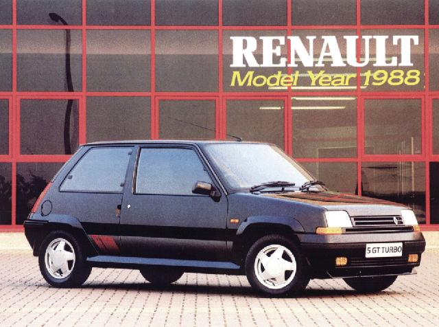 uk renault 5 gt turbo site dedicated to the original pocket rocket. Black Bedroom Furniture Sets. Home Design Ideas